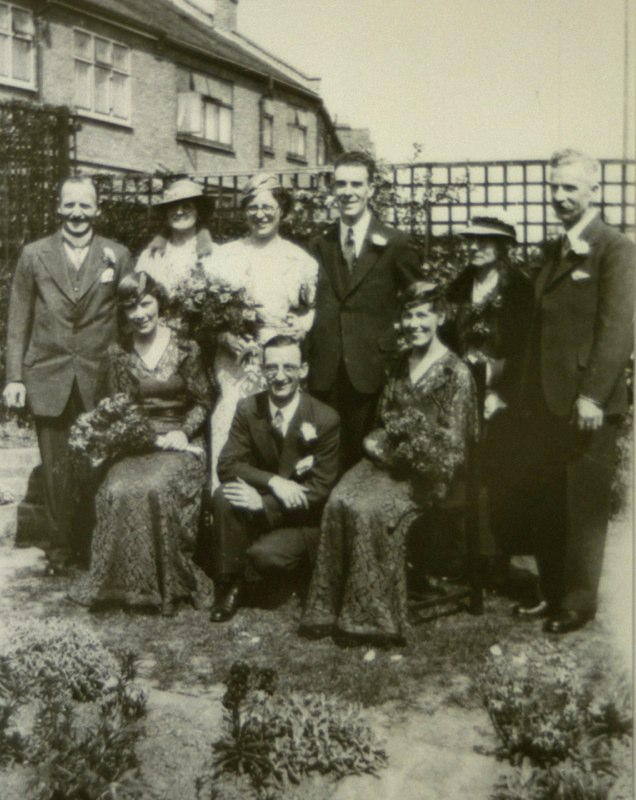 Wedding of William Rugman and Ellen K Lade 6th May 1935