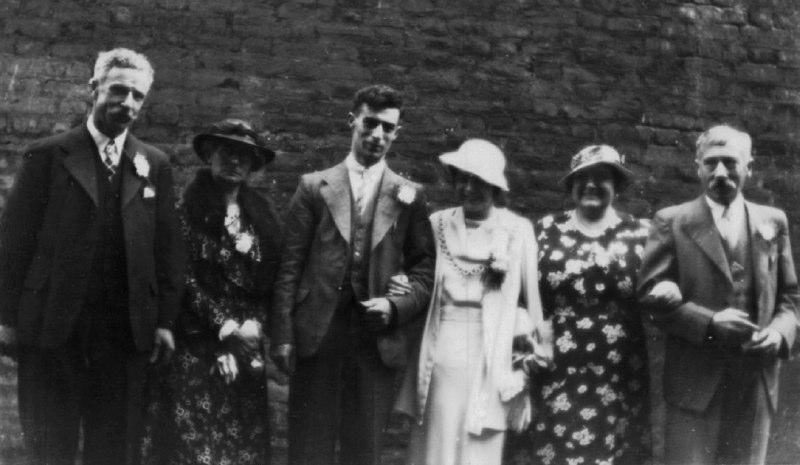 Wedding of Arthur Rugman and Elsie Maybank, 2nd Aug 1936