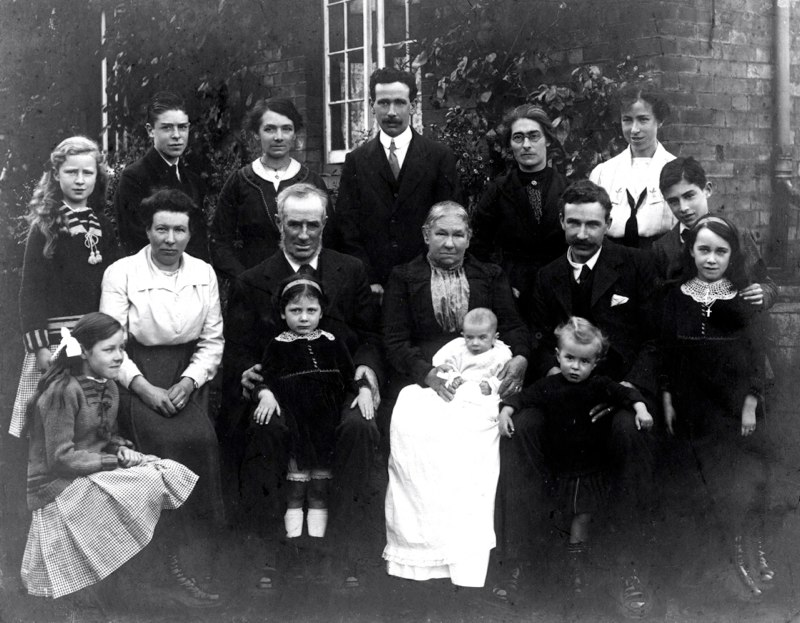 Thomas and Fanny Rugman Golden Wedding 1919