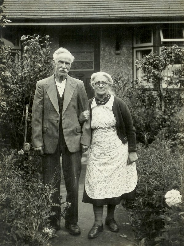 James and Mary Rugman, Kingswood, Kent, c1955