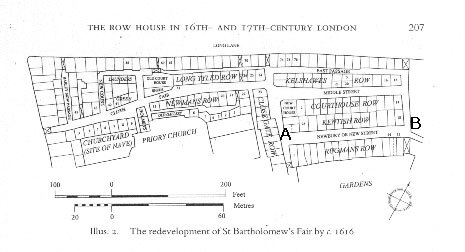 Rugman's Row Map