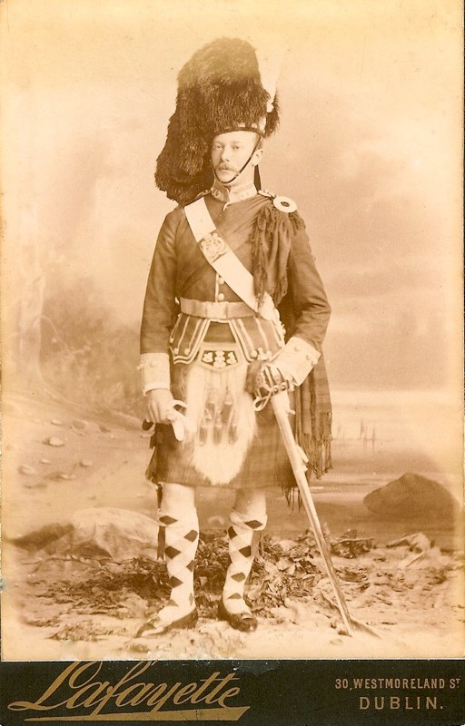Unknown Officer Argylls – Dublin